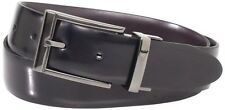 Geoffrey Beene Men's Brush Accents Buckle Belt Size 40