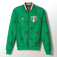 NEW MENS ADIDAS ORIGINALS MEXICO SOCCER TRACK TOP JACKET ~SIZE LARGE ~  #F77470
