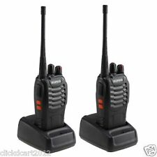 BaoFeng 16 Ch Long Range Walkie Talkie 2 Way Interphone Radio Set Of 2Pcs