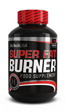 BioTech USA Super Fat Burner 120 Tablets Weight Loss Diet Slimming Therm New !
