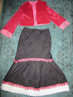 1900s VICTORIAN EDWARDIAN Music Man Titanic pink jacket/skirt costume 8 theater