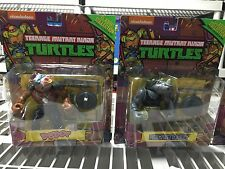 Retro TMNT Vintage Collection - Lot of 6 Action Figures Bebop Rock Leo Mic