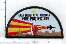 Arizona - Gila Bend Air Force Auxiliary Field AZ Fire Protection Patch