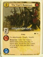 A game of thrones LCG - 1x The Viper 's Bannermen #016 - ice and fire draft Pack