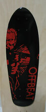 """Offbeat 2nd Amendment Man"" Graphic Mini Backpack Skateboard Deck #3 Made In USA"