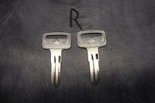 2 Polaris Sportsman 500 Key Blanks Others Yamaha Rhino 01 02 2003 2004 2005 ATV