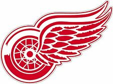 """Detroit Red Wings Large  NHL Hockey sticker 12.5""""x 9.3"""""""