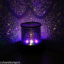 5V Fabulous Starry Projector DIY Star Projector Moon Lamp for Kids Bedroom