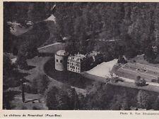 1966  --  LE CHATEAU DE ROOSENDAAL   VUE AERIENNE   3J971