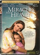 Miracles from Heaven DVD NEW SHIPS NOW!! Eugenio Derbez, John Carroll !!