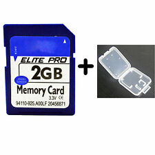 2G 2GB 100% Full Capacity SD Digital Memory Card Fast Speed SD Card For Camera