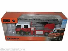 Automaxx Joy City 1/32 Scale Scania T380 Fire Truck With Working Ladder 6551-01