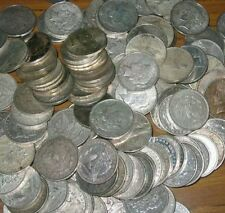 HUGE ESTATE LOT U.S. 90% SILVER PEACE AND MORGAN DOLLARS - JUNK Lot. One of each
