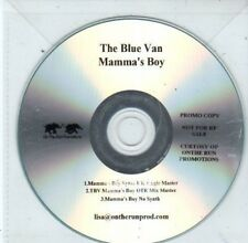(BQ484) The Blue Van, Mamma's Boy - DJ CD