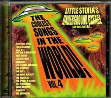 Little Steven's Underground Garage - Coolest Songs In The World Volume 4 NEW