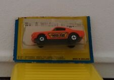 Matchbox 8 Mustang Wildcat Dragster MOC BP MIP Orange  1/64 Superfast Blister