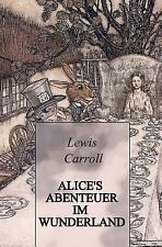 Alice's Abenteuer Im Wunderland (Illustrated) by Lewis Carroll (2015, Paperback)