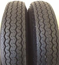 2 (TWO)  480-8 4.80-8 6 PLY LRC HI WAY SPEED TRAILER TIRES  NEW