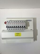 Wylex Amendment 3 Metal Clad 10 Way HI Dual RCD 17TH Edition Consumer UNIT +MCBS
