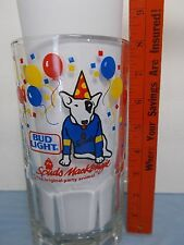 VINTAGE SPUDS MACKENZIE BUDWEISER BUD LIGHT BEER STINE -PARTY FRENZY- ANIMAL