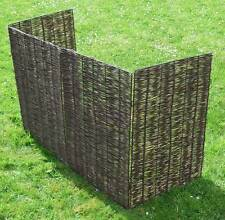 Willow Bin Screen (Double) Wheelie Bin Screen for 2 Bins