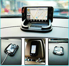 Coche Dashboard Anti Slip titular de agarre móvil Pad Mat Iphone 5s 6 6s Plus S6