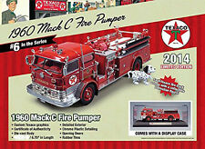 1960 MACK C FIRE PUMPER TRUCK TEXACO 2014 SERIES 6 1/50 AUTOWORLD CP7157