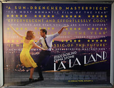 Cinema Poster: LA LA LAND 2016 (Review Quad) Ryan Gosling Emma Stone