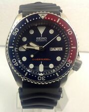 SEIKO AUTOMATIC MEN'S DIVER WATCH RUBBER STRAP SKX009K1
