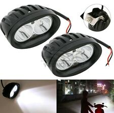2 Pieces of 20Watt Car / Bike Led Auxiliary Cree LED Fog Lamp White Light Spot