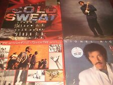 LIONEL RICHIE ROBERT CRAY EARTH WIND & FIRE COLD SWEAT 1980'S SOUL FUNK RELEASES
