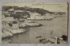 """CPA """" MARSEILLE - Panorama de la Corniche"""