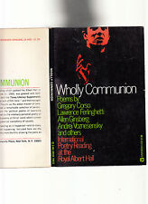 WHOLLY COMMUNION-RARE 1ST 1965-FAMOUS POETRY READING CORSO-FERINGHETTI-GINSBERG+
