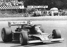 Clay Regazzoni Original B&W David Phipps Period Press Ensign N177 Italian GP1977