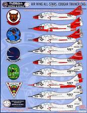 Furball Decals 1/48 GRUMMAN COUGAR F9F-8T & TF-9J TRAINER CAGs Part 1