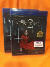 The Conjuring 2 (Blu-ray Disc, 2016, Includes Digital Copy) Brand New
