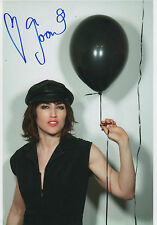 Joan As The Police Woman signed 8x12 inch photo autograph