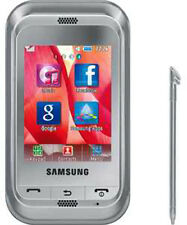 NEW IN BOX SAMSUNG C3300 SILVER UNLOCKED AT&T TMOBILE PHONE