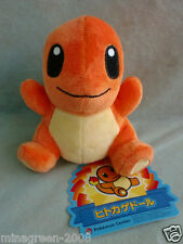 HTF JAPAN Pokemon Center Limited POKEDOLL 2013 CHARMANDER with Paper Tag Plush