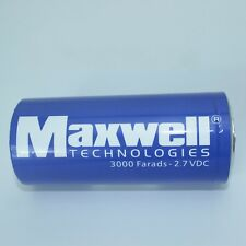 USA Maxwell 2.7V3000F super capacitor K2 2.7V 3000F+Connecting piece New G721 XH