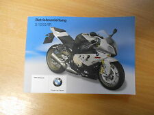 Manual De Usuario Manual De Conductor BMW S 1000 RR