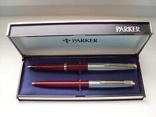 "PARKER ""45 ""  STANDARD DE LUXE SET;14 Kt.GOLDNIB ! in ORIG.BOX !MADE IN SPAIN"