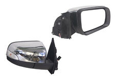 FORD RANGER PX 9/2011-ON RIGHT HAND SIDE ELECTRIC DOOR MIRROR CHROME AUTO FOLD