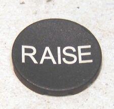 Einlegeschild (Raise)  passend für Moeller RMQ-Titan Drucktaster NEU