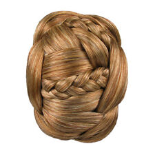 Hair Extension Braided Chignon Clip In Bun Jessica Simpson Hairdo Red Blonde