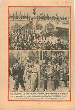 La Panne & Furnes Albert Ier Berlgique Léopold Ier Digue Ostende Duke York 1931