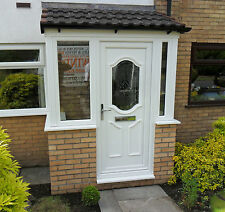 uPVC Porch Supplied & Fitted In White Only £2400.00