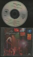 Live - Johnny Winter   | Columbia USA CD