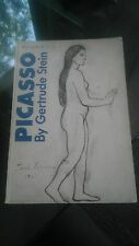 Picasso by Gertrude Stein 1960 Beacon 3rd edition Make offer!