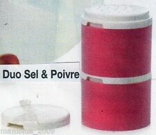 Tupperware DUO SEL/ POIVRE ou EPICES